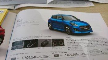 Hé lộ thông số Suzuki Swift 2017