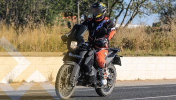 KTM Adventure 790: bắt gặp trên đường chạy thử