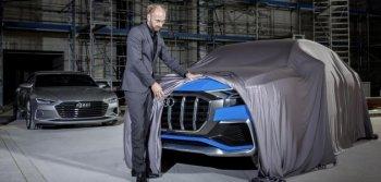 Audi Q8 hoàn toàn mới dần lộ diện