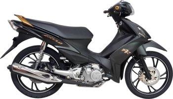 Suzuki ra mắt Axelo bản màu đen mờ