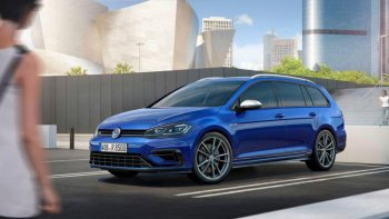 Volkswagen Golf R 2017 cải tiến mạnh mẽ