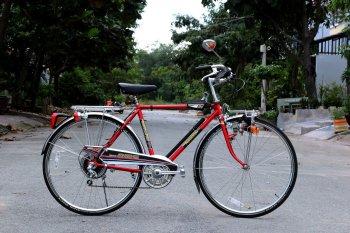 """Cận cảnh xe đạp National """"hiếm lạ""""đắt ngang chiếc SH tại Sài Thành"""