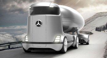 E-Truck: Xe tải tương lai của Mercedes