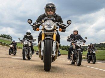 Hãng xe máy Triumph lãi khủng năm 2016