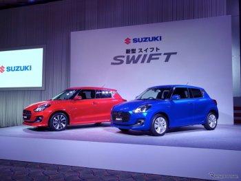 Suzuki Swift thế mới chính thức ra mắt