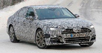 Bắt gặp Audi A8 thế hệ mới trên đường chạy thử