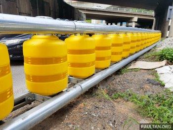 Malaysia thử nghiệm rào chắn giao thông dạng trụ xoay