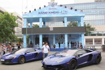 Đại nhạc hội kỷ lục Tiger Remix ở Sài Gòn sôi động chưa từng có với cặp siêu xe McLaren Spider và Lamborghini Aventador