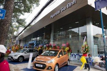 Huyndai mở showroom phong cách thân thiện mới tại Sài Gòn - Chợ Lớn