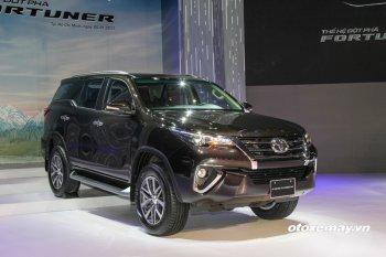 Chi tiết 3 phiên bản mới ra mắt của chiếc Toyota Fortuner 2017