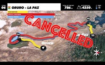 Dakar 2017 chặng 6 hoãn vì mưa bùn ngập tận cổ