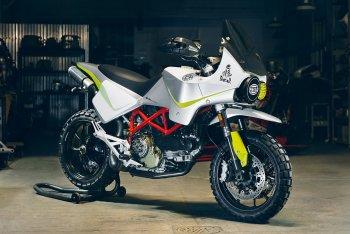 Ducati Hypermotard độ phong cách Dakar
