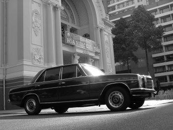 """Mercedes-Benz 220 quý hiếm của nhạc sĩ """"Ru nửa vầng trăng"""""""