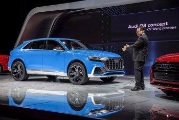 Audi Q8 Concept hoàn toàn mới chính thức xuất hiện