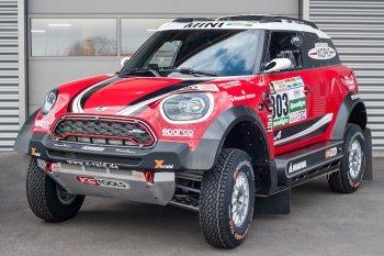 MINI Countryman phiên bản đua Dakar có gì đặc biệt
