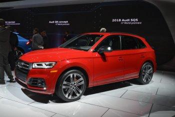 Audi SQ5 mới lặng lẽ ra mắt tại Detroit Auto Show 2017