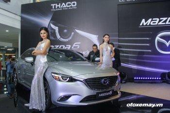 Mazda6 2017 ra mắt Việt Nam, thêm nhiều công nghệ, giá 975 triệu đồng