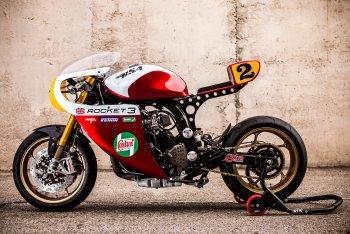 """Triumph Legend """"khoác"""" lên mình chất cổ điển của Le Mans"""