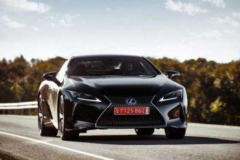 Lexus LC coupe 2018 chốt giá từ 2,1 tỷ đồng ở thị trường Mỹ