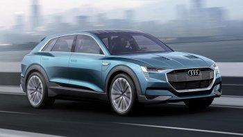 Audi xác nhận sản xuất SUV điện đầu tiên