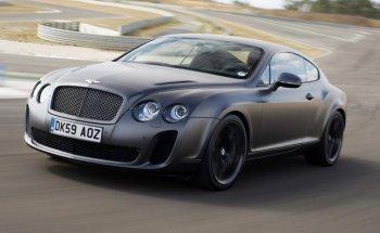 Bentley Continental Supersports: Siêu xe thể thao 2 cửa nhanh nhất thế giới