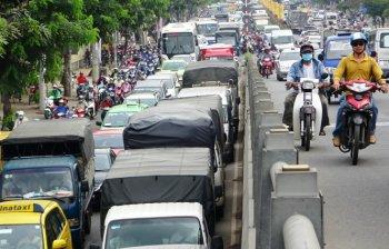 Cấm xe tải dưới 1,5 tấn ra vào nội ô TP.HCM