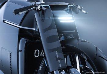 Concept Samurai ấp ủ thay đổi xu hướng thiết kế mô tô Nhật Bản