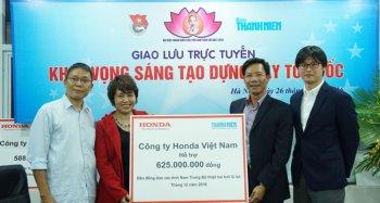 Honda Việt Nam hỗ trợ đồng bào lũ lụt các tỉnh Nam Trung Bộ