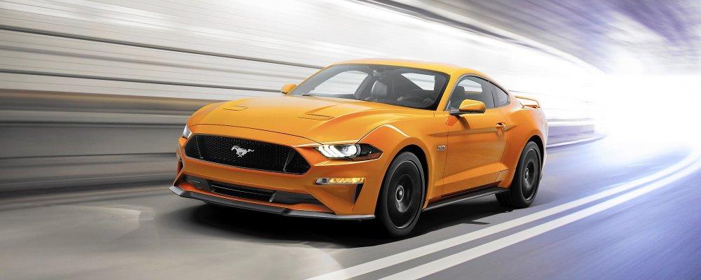 Ford Mustang 2018 ra mắt với các tinh chỉnh ấn tượng