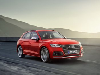 Audi SQ5 chốt giá 52.000 USD