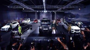 Mercedes-Benz tổng kết năm kinh doanh xe SUV thành công tại Việt Nam