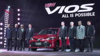 Phiên bản nâng cấp Toyota Vios 2017 ra mắt tại Thái Lan với giá từ 17.200 USD