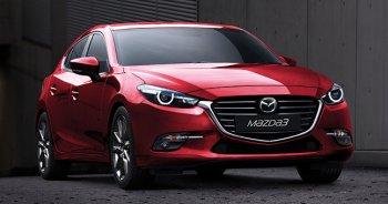Phiên bản nâng cấp Mazda3 2017 ra mắt tại Thái Lan