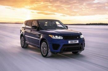 Thử khả năng tăng tốc của Range Rover Sport SVR trên nhiều địa hình