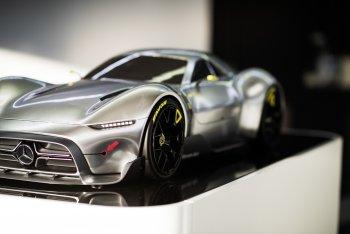 Mercedes và AMG lộ ảnh siêu xe khủng 1000 mã lực