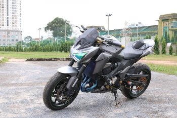 """""""Nâng cấp"""" Kawasaki Z800 2015 thêm ngông nghênh"""