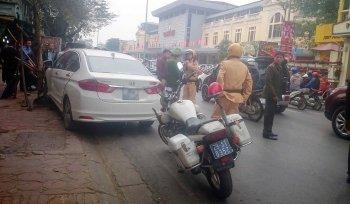 Honda City gây tai nạn liên hoàn trong ngày đầu tiên đi làm