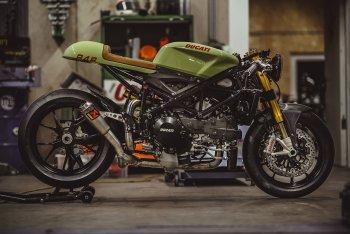 Café ít Racer thì nhiều: bản độ Ducati 848 Evo ấn tượng