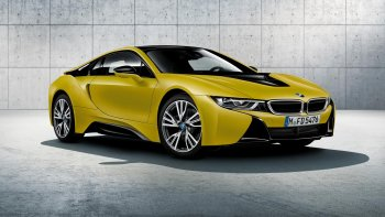 """""""Khám xét"""" siêu xe BMW i8 phiên bản đặc biệt"""
