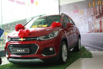 Chevrolet Trax 2017 bắt đầu được bán tại Việt Nam