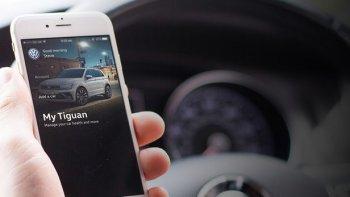 Volkswagen tung ứng dụng điện thoại quản lý xe