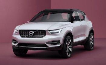 Volvo XC40 hoàn toàn mới sẽ ra mắt vào năm 2017 ?