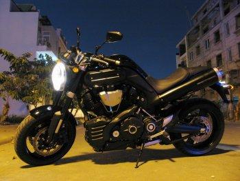 Chiêm ngưỡng một đại diện chuẩn mực dòng nakedbike - Yamaha MT-01
