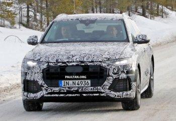"""Audi Q8 hoàn toàn mới """"ngụy trang"""" chạy thử"""