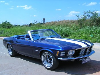 Khám phá xe cổ Ford Mustang 1970 tại Sài Gòn