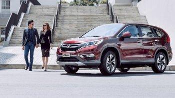 """Honda Việt Nam hút khách cho CR-V bằng """"lộc vàng"""""""