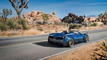 Pagani Huayra Roadster giá 2,4 triệu USD