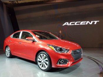 Hyundai tăng độ an toàn cho Accent 2018