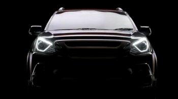 Lộ diện phiên bản 2017 của dòng SUV Isuzu mu-X