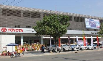 Khai trương showroom Toyota Tây Ninh quy mô 55,5 tỷ đồng